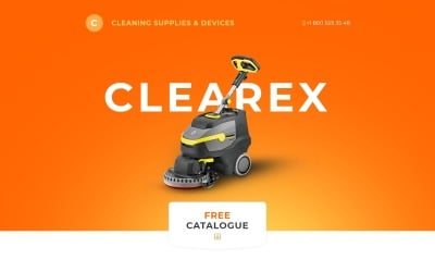 Clearex Landing Page Template