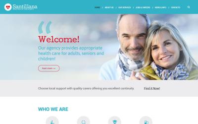 Drupal-Vorlage der Home Health Care Agency