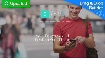 Mobile Repair Service Moto CMS 3 Template