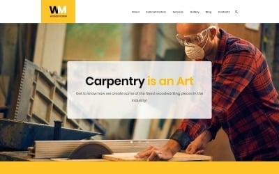 Woodsmaster - Carpenter & Handyman WordPress Theme