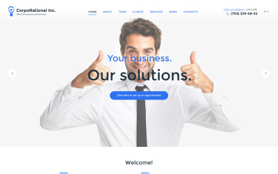 CorpoRational Inc. Website Template
