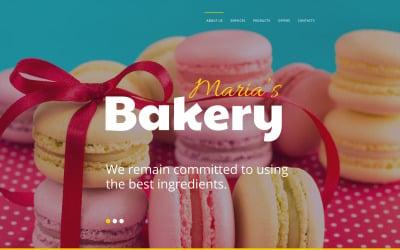 Maria's Bakery Website Template