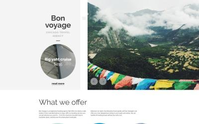 Bon Voyage WordPress téma