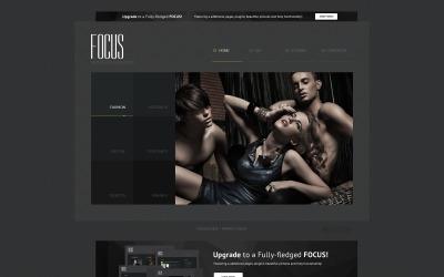 Focus - Plantilla Joomla gratuita para portafolio de fotógrafos