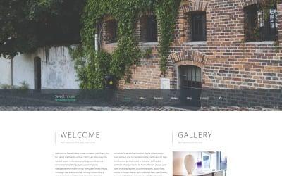 Sweet House Website Template