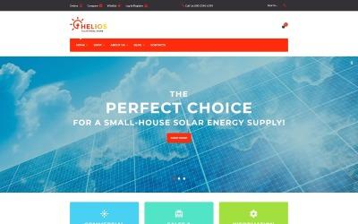 Helios - solární panely a příslušenství ukládají téma WooCommerce