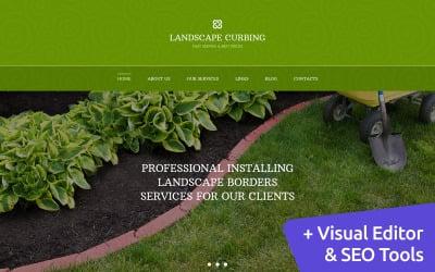 Landscape Design Moto CMS 3 Template