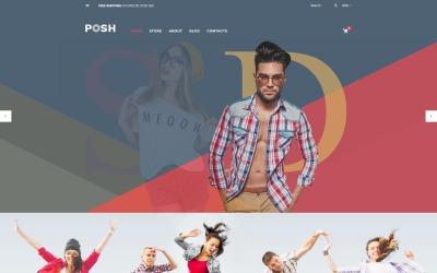 Posh - Tema de WooCommerce de moda urbana