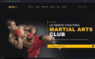 Sensei - WordPress-thema voor vechtsporten