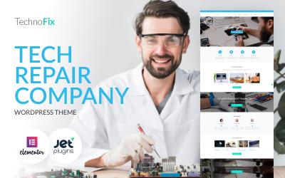 TechnoFix - Tech Repair Company WordPress téma