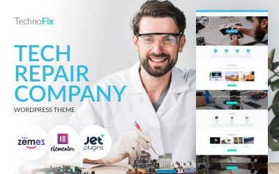 TechnoFix - тема WordPress для компании по ремонту техники