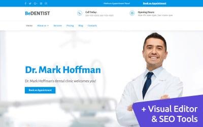 BeDentist - Dental Clinic Moto CMS 3 Template