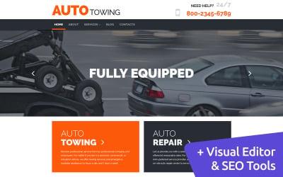 Auto Towing - Car Service Moto CMS 3 Template