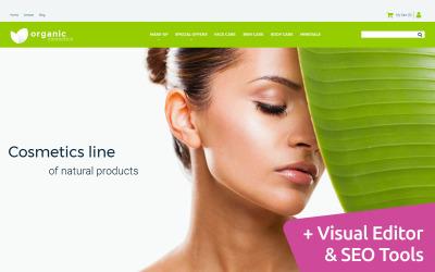 Modelo de Ecommerce MotoCMS da Cosmetics Store
