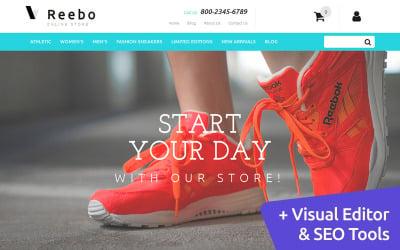 Reebo - Shoe Store MotoCMS Ecommerce Template