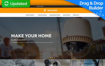Securax Responsive MotoCMS Ecommerce Template