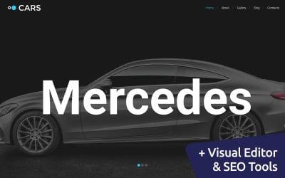 Cars - VIP Car Portal Moto CMS 3 Template