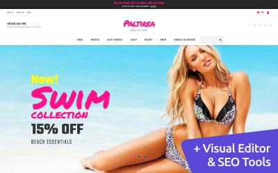 Beachwear Store MotoCMS Ecommerce Template