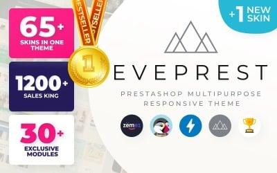 Eveprest - Többcélú e-kereskedelmi sablon PrestaShop téma
