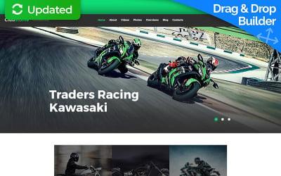 Motor Sports Moto CMS 3 Template