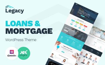 Legacy - WordPress-thema voor onroerend goed en hypotheken
