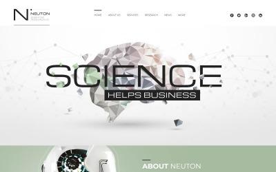 Tema WordPress responsivo à astronomia