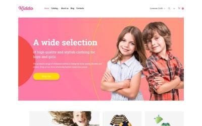 Baby Store VirtueMart Template