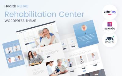 Health Rehab - Rehabilitation Center WordPress Theme