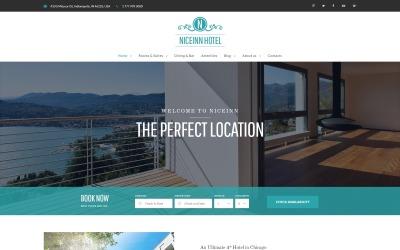 NiceInn - Адаптивна WordPress тема для невеликих готелів