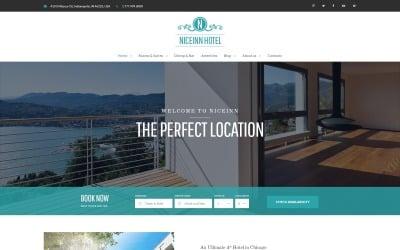 NiceInn - Tema WordPress responsivo para pequenos hotéis