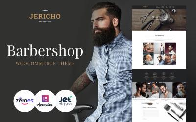 Jericho - современная тема WordPress для парикмахерской