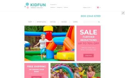 KidFun - Kids Toys & Games Store OpenCart Template