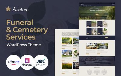 Ashton - WordPress Theme - Funeral & Cemetery Services
