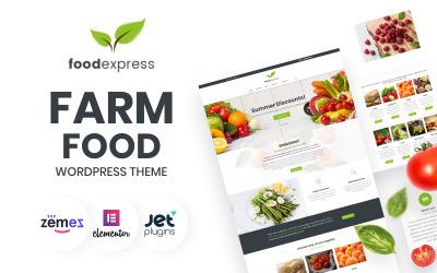 Food Express - Tarım ve Çiftlik WordPress Teması
