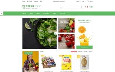 Fresh Food - OpenCart шаблон для магазина здоровых и органических продуктов