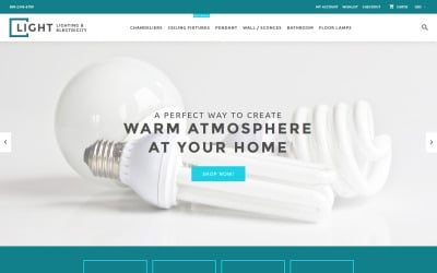 Light - Lighting & Electricity Shopify Theme