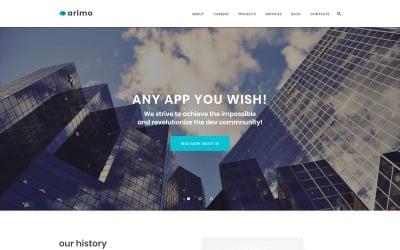 Arimo - Software and App Development WordPress Theme
