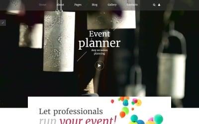 Event Planner Responsive Joomla Template
