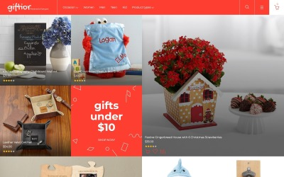 Giftior - Gifts Store Magento Theme