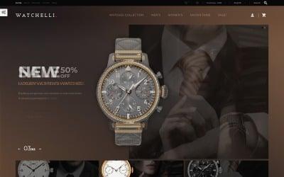 Watchelli - Luxury Watches Store PrestaShop Theme
