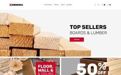 Hernesia - Building Materials Responsive Magento Theme
