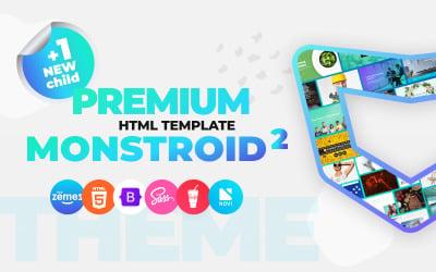 Monstroid2 - Modelo de site HTML5 premium multiuso