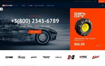 Motor - Car Services Magento Theme