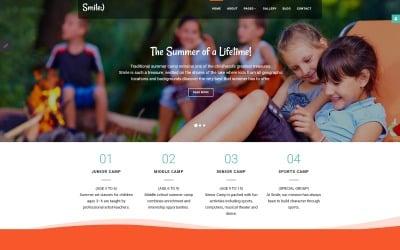 Smile - Summer Camp Joomla Template