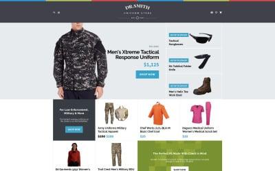 Dr. Smith - Uniform Store OpenCart Template