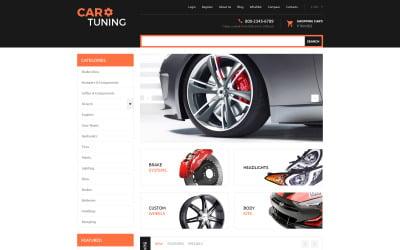 Car Tuning VirtueMart Template