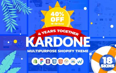 KarDone - Tema do Shopify de designs multifuncionais