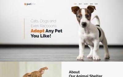 PetInn - Tema WordPress adaptable al refugio de animales