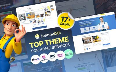 JohnnyGo - Тема для багатоцільових послуг для дому WordPress