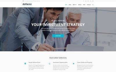 Dollarex - WordPress тема інвестиційної компанії та фінансів